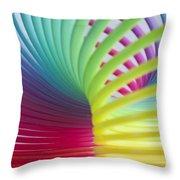 Rainbow 7 Throw Pillow