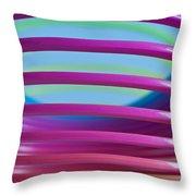 Rainbow 9 Throw Pillow