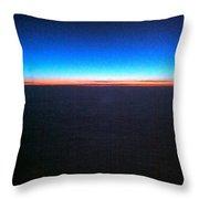 Rainbow Atlantic Throw Pillow