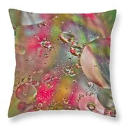 Rainbow Light Throw Pillow