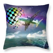 Rainbow Set Free Throw Pillow