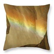 Rainbow Vision Throw Pillow