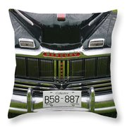 Raindrops On The Mercury Throw Pillow