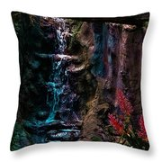 Rainforest Eden Throw Pillow