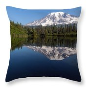 Rainier Clarity Throw Pillow