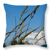 Rainier Weeds Throw Pillow