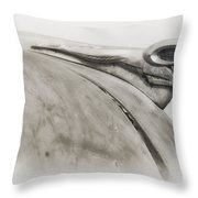 Ram Tough - Dodge Hood Ornament Throw Pillow