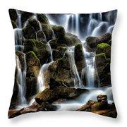 Ramona Falls Throw Pillow