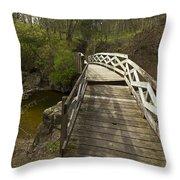 Ramsey Creek Scene 9 Throw Pillow