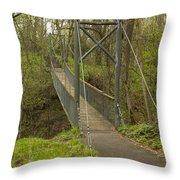 Ramsey Swing Bridge 2 Throw Pillow
