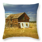 Ranch House Throw Pillow
