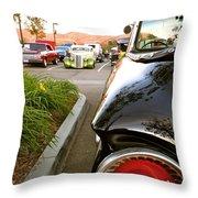 Ranchero Rocket Throw Pillow