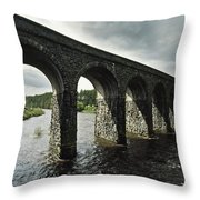 Randalstown, Co Antrim, Ireland Throw Pillow