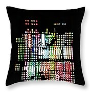 Random Cells 8 Throw Pillow