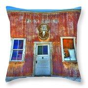 Randsburg Post Office Throw Pillow