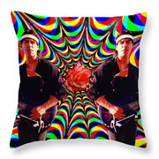 Randy's Rose Throw Pillow