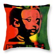 Rasta Baby Throw Pillow