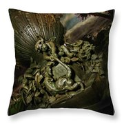 Rat By The Tail Throw Pillow