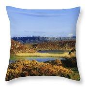 Rathlin Island, Co Antrim, Ireland Throw Pillow