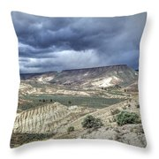 Rattlesnake Ridge Geological Site Throw Pillow