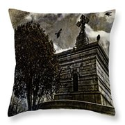 Ravens Roost Throw Pillow
