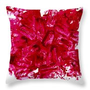 Razor Blades Throw Pillow