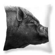 Razorback Throw Pillow
