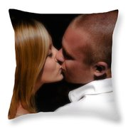 Rb And Jaymee IIi Throw Pillow