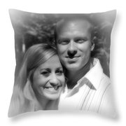Rb And Jaymee Xiii Throw Pillow