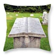 Reading Eternity Throw Pillow