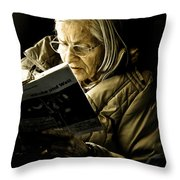 Reading Is Lifetime Passion Throw Pillow
