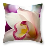 Ready And Willing Throw Pillow