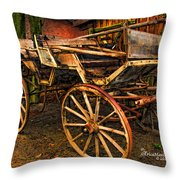 Ready For A Sunday Drive - Featured In Tennessee Treasures Group And Spectacular Artworks Group Throw Pillow