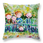 Ready For Adventures Throw Pillow