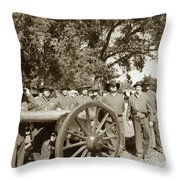 Ready For Battle Throw Pillow