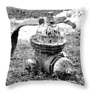 Ready For Service Throw Pillow