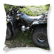 Ready To Ride Throw Pillow