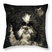 Real Character Throw Pillow