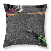 Real Gone In Nowheresville Throw Pillow by Terry Doyle