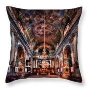 Reason To Believe Throw Pillow by Evelina Kremsdorf