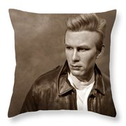 Rebel Without A Cause S Throw Pillow