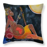 Rebirth Of Africa Throw Pillow