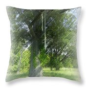 Recalling Younger Days Throw Pillow