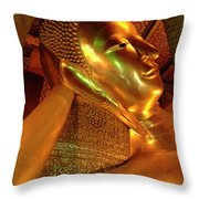 Reclining Buddha 2 Throw Pillow