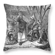 Reconstruction, 1868 Throw Pillow