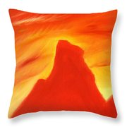 Red And Orange Throw Pillow