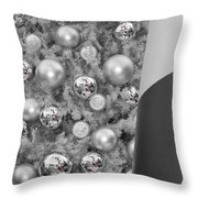 Red Candy Reflections Throw Pillow