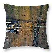 Red Cedar Fall Throw Pillow