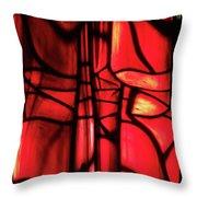 Red Green Throw Pillow