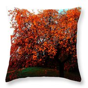 Red Head Throw Pillow